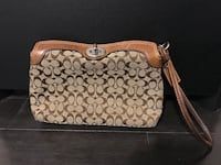Coach wristlet and coin purse selling both as a set for $60 Brampton, L6R