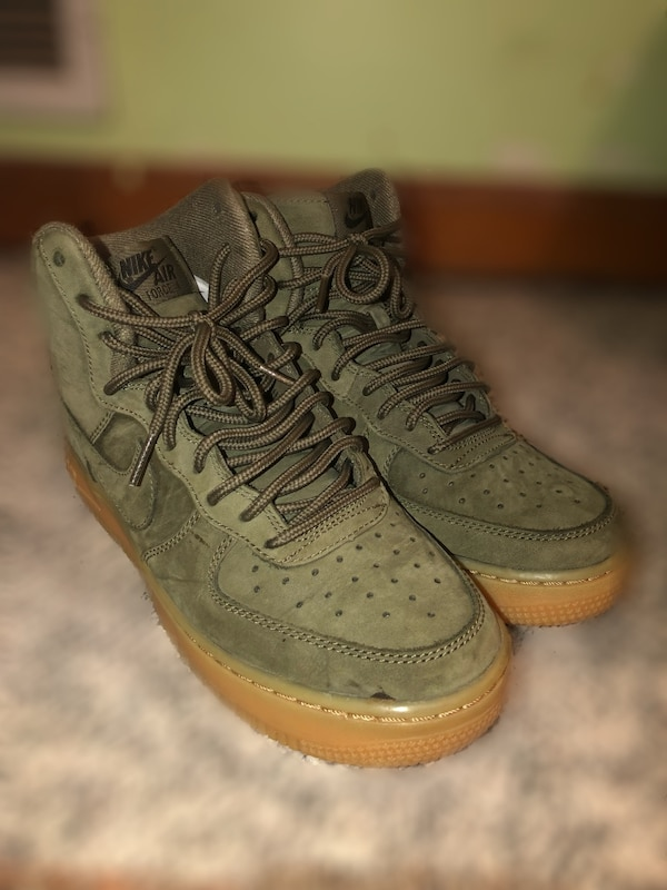 c4c8c36c5c38 Used Olive Nike Air Force 1 for sale in Lithonia - letgo