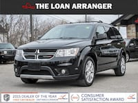 2017 dodge journey with 54,334km and 100% approved financing Toronto