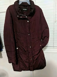 Maroon winter  jacket