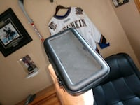 Motorcycle Handle bar mount phone holder Awesome.  Maple Grove