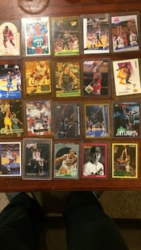 Assorted baseball trading card collection many more also!!!