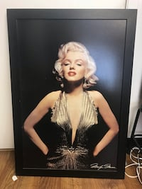 Marilyn Monroe wood framed painting 4 feet tall and 3 feet wide $125  Margate, 33063