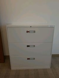 File Cabinet with Lock Lateral File Cabinet Metal  Arlington