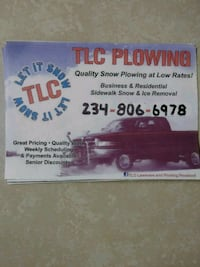 Snow Plowing/Removal Girard