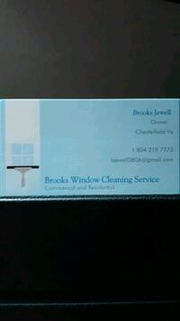 Window cleaning Chesterfield