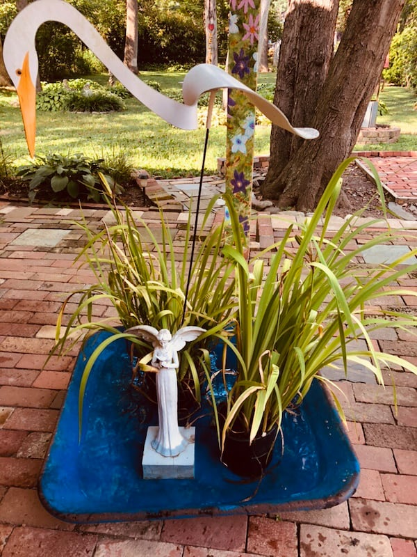 Mortar pan water gardens/ repurpose for whatever 63aa46a1-a4a8-4629-917b-3f43bd2f701b
