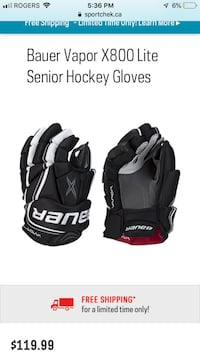 Vapor X800 Hockey Gloves