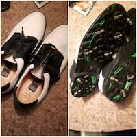black-and-white Nike cleats Westbank, V4T 2W3