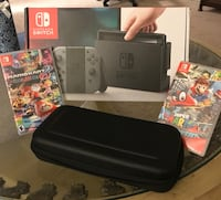 black Nintendo Switch with box Silver Spring, 20902