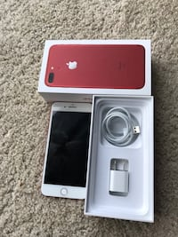 iPhone 7 Plus 128 gigs unlocked (Red Product ) Greensboro, 27409