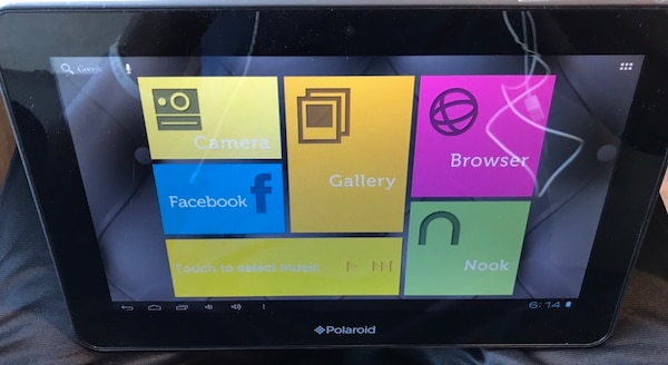 Polaroid PMID1000B 10 1 inch tablet w/ charger , Tested and confirmed  working