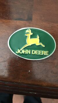 John Deere belt buckle Spanish Fort, 36527