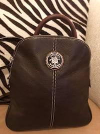 Dooney & Bourke Brown Leather Backpack - NEW!  Austin, 78758