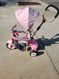 Radio flyer pink tricycle