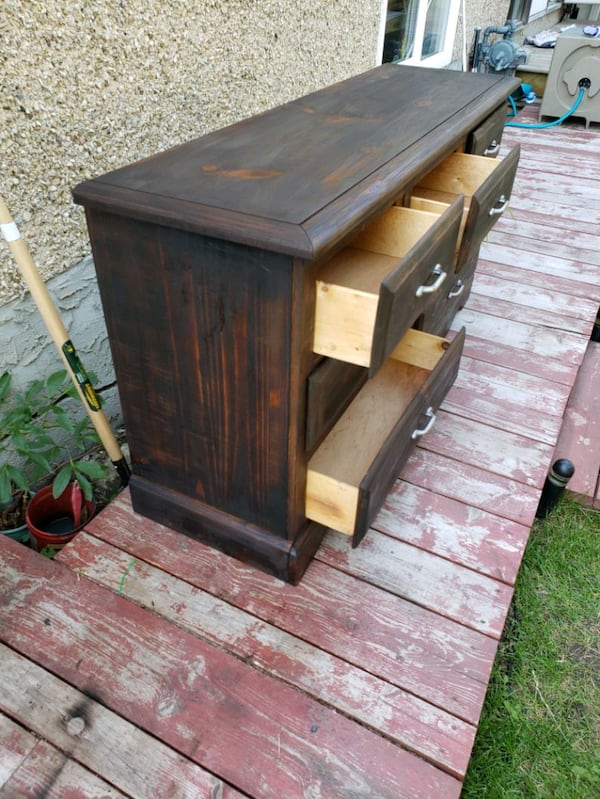 Solid wood dresser  1