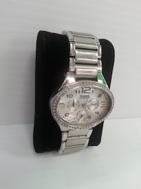 Fossil Stainless Steel Watch w/ White Stones - 6686 Calgary