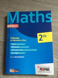 Annabac second math  Waziers, 59119