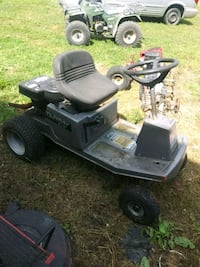 black and gray riding mower Anderson, 64831