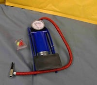 Foot Operated Air Pump For Ball Bike Bicycle Tire Inflator Inflatable Mattress Buena Park