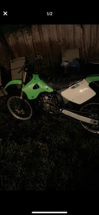 White and green motocross dirt bike need carb clean Fort Lauderdale, 33311