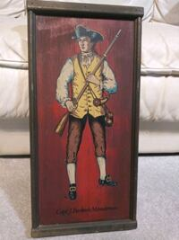 Vintage military painted wood wall plaques Orange Park, 32073