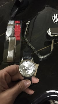 Watch with bands to change out - battery is dead