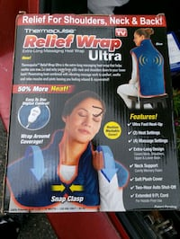 Extra-long massaging heat wrap Toronto, M6G 3Y4