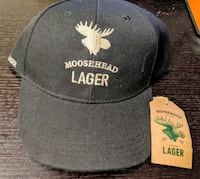 Brand New Moosehead Lager Hat With Tags