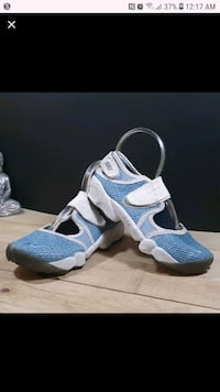 pair of blue-and-white running shoes Woonsocket, 02895