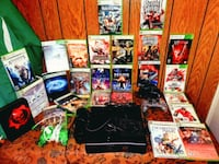 XBOX 360 BUNDLE-EVERYTHING INCLUDED ALL GAMES WORK PERFECT (SOME ARE B Woodbridge, 22192