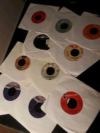 45 rpm records, over 30 of them, some have jackets Gaithersburg, 20878