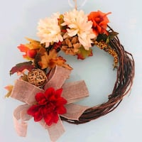 grapevine wreath with flower accent Mills River, 28759