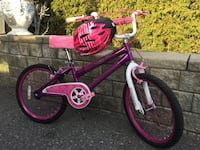Bike and helmet for girls 19 inches  Vaughan, L4L 2T7