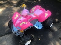 toddler's pink and white ride on toy Vienna
