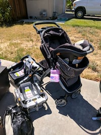 baby's brown travel system Brentwood, 94513