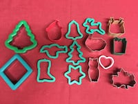 Assortment of Holiday Cookie Cutters Christmas Easter Las Vegas, 89149