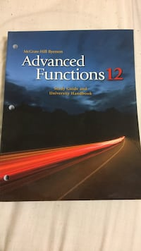 Advance functions 12 study guide