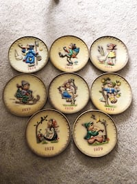 Hummel Plate collection 1972 - 1979 Woburn, 01801
