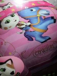 ~BRAND NEW~ TWIN Comforter -Disney Sheriff Callie - REVERSIBLE  La Vista
