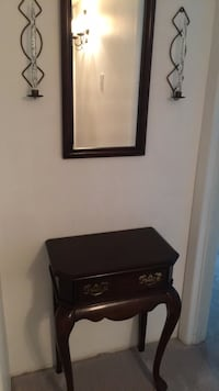 Hall cabinet with mirror and sconces Woodbridge, 22193