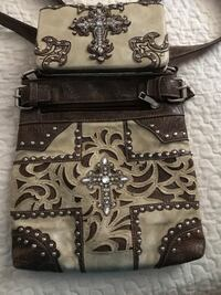 Concealed to carry purse and matching wallet