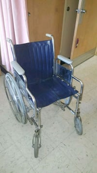 black and gray wheelchair with stainless steel fra Richmond Hill