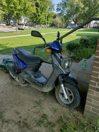 blue and black motor scooter Greensboro, 27405