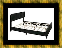 Queen bed platform bed with mattress Cheverly