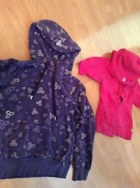 toddler's purple and pink hoodie jackets Calgary, T2K