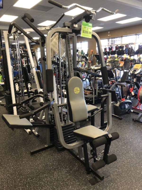 Used golds gym xr 60 home gym for sale in austell letgo