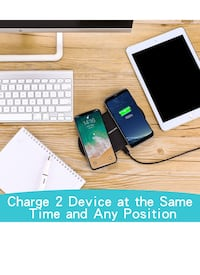 Dual Wireless Charger New York, 11355