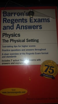 Barrons physics review book  New York, 11365