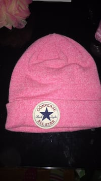 Pink and white san francisco 49ers knit cap Laval, H7P 2V1